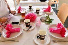Alt omkring Pink Cup 2020 var gennemført - selv borddækningen