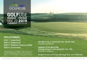 Aabenraa Golfuge 2019 - 18. juli @ Aabenraa Golfklub | Aabenraa | Danmark