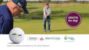 Gratis golf for Diabetikere og andre med kroniske sygdomme! @ Aabenraa Golfklub