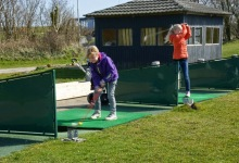 Juniortræning golf 2015